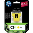 HP 02XL Yellow Ink Cartridge (C8732WN), High Yield