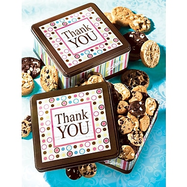 Mrs. Fields Original Cookies, Thank You Tin, 120 Nibblers
