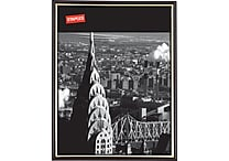 Staples® EZ Mount Plastic Frame, 8-1/2' x 11', Black