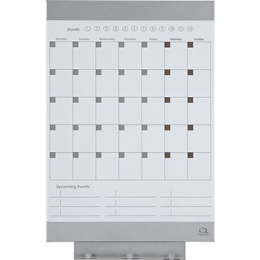 Quartet® Envi™ Monthly Whiteboard Calendar, 11
