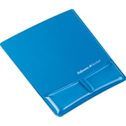 Fellowes Gel Mouse Pad with Wrist Support (blue)