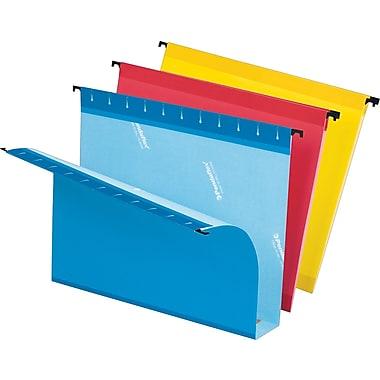 Pendaflex® - Chemises suspendues SureHook®, grande capacité, expansion 2 po, format lettre, 8 1/2 po x 11 po, couleurs variées