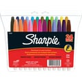 Sharpie® Fine Point Permanent Markers, Assorted Fashion Colors, 24/Pack