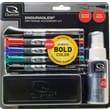 Quartet® EnduraGlide® DryErase Marker, Fine Tip, Assorted, 5/Pack