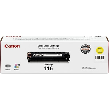 Canon 116 Yellow Toner Cartridge (1977B001AA)