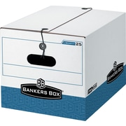 BANKERS BOX® STOR/FILE™ Medium-Duty Storage Boxes, Letter/Legal, Stacking Strength 550 lb