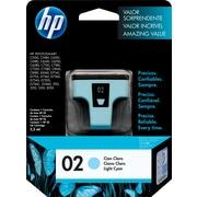 HP 02 Light Cyan Original Ink Cartridge (C8774WN)