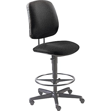 HON® 7700 Series Armless Black Swivel Task Stool,