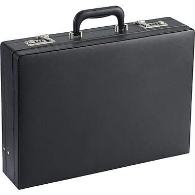 SOLO® Leather-Look Expandable Briefcase
