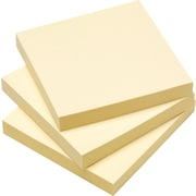 "Simply™ 3"" x 3"" Yellow Notes, 18/Pack"