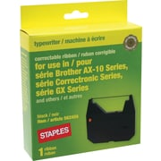 Staples® Typewriter Ribbon for Brother AX/GX