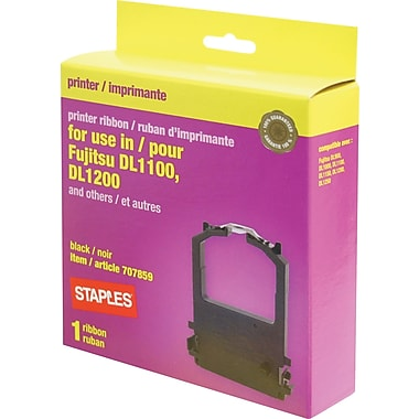 Staples® Fujitsu 16604 Compatible Printer Ribbon