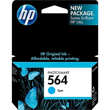 HP 564 Cyan Ink Cartridge (CB318WN)