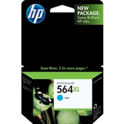HP 564XL Cyan Ink Cartridge (CB323WN), High Yield