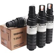 Toshiba Black Toner Cartridge (T-3520), 4/pk