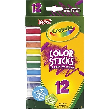 Crayola® Color Sticks Pencils, 12/pack