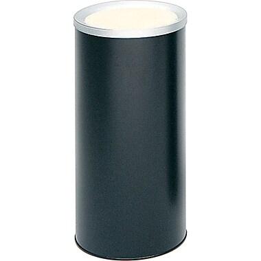 Safco Ash Urn, Black, 3 gal.