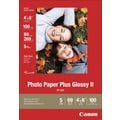 Canon® Photo Paper Plus II, 4x6, Glossy, 100/Pack
