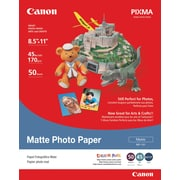 Canon® Photo Paper Pro, 8 1/2 x 11, Matte, 50/Pack