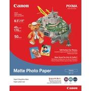 """Canon® Photo Paper Pro, 8 1/2"""" x 11"""", Matte, 50/Pack"""