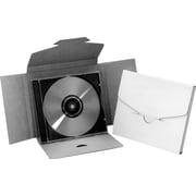Enveloppes d'expédition pour CD, 5 13/16 po x 5 po x 1/2 po, blanc, 50/lot