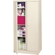 basyx™ by HON Easy-to-Assemble 72 High, 5- Shelf Storage Cabinet, Putty