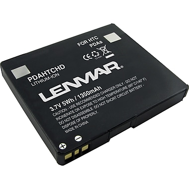 Lenmar Replacement Battery for T-Mobile HTC Touch HD, Blackstone Cellular Phones