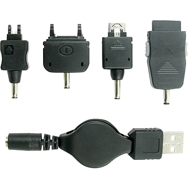 Lenmar USB Charge Cable and Tip Set for most LG and Sony Cell Phones