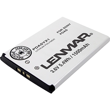 Lenmar Replacement Battery for Sony X1a, Xperia X1 Personal Data Assistants