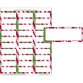 Holiday Stripes Mailing Labels, 1in. x 2 5/8in.
