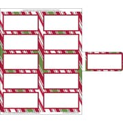 Great Papers® Holiday Shipping Labels Holiday Stripes , 50/Count