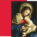 Great Papers Madonna & Child Holiday Card with Red Envelopes, 18/Pack