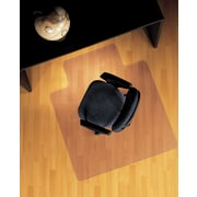 "ES Robbins Anchormat™ Chairmat, For Hard Floors, Wide Lip, 45"" x 53"""
