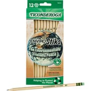 Ticonderoga ® Woodcase Pencil, HB-Soft, No. 2 Lead, Woodgrain Barrel, Dozen