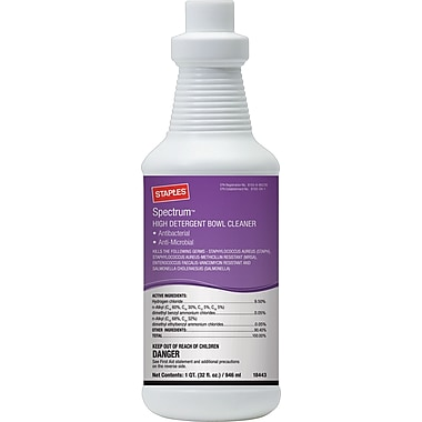 Staples® Spectrum™ Bowl Cleaner, 32 oz.