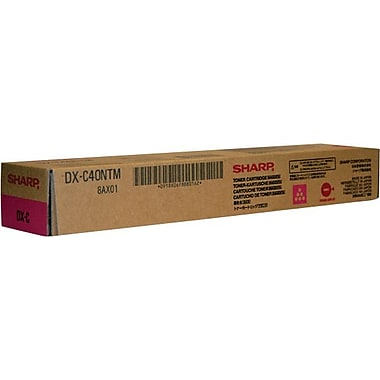 Sharp Magenta Toner Cartridge (DX-C40NTM)