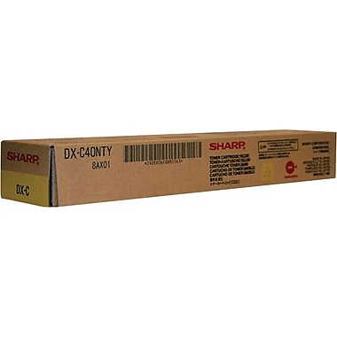 Sharp Yellow Toner Cartridge (DX-C40NTY)