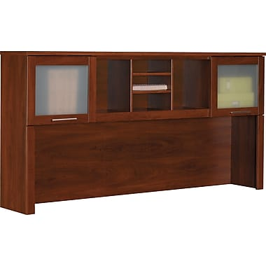 Bush Somerset 71in. Hutch, Hansen Cherry Finish