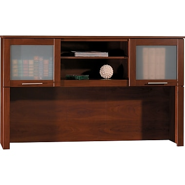 Bush Furniture Somerset 60W Hutch, Hansen Cherry