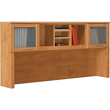 Bush Somerset 71in. Hutch, Maple Cross