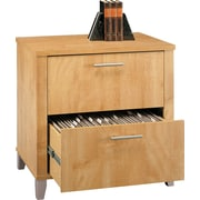 Bush Furniture Somerset 30W Lateral File, Maple Cross