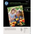 HP Everyday Photo Paper, 8 1/2 x 11, Gloss,50/Pack