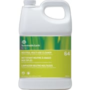 Sustainable Earth® by Staples® #64 Neutral All Purpose Cleaner, 1 Gallon, 4/Ct