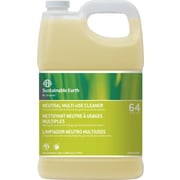 Sustainable Earth® by Staples® #64 Neutral All Purpose Cleaner, Quick Mix, 1 Gallon, 4/Ct