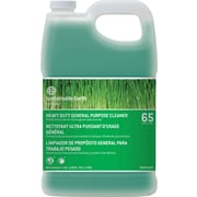 Sustainable Earth® by Staples® #65 All Purpose Heavy Duty General Cleaner And Degreaser, Quick Mix, 1 Gallon, 4/Ct