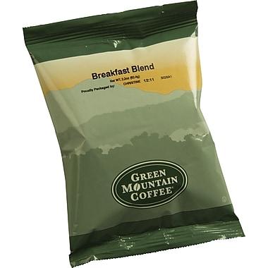 Green Mountain® Breakfast Blend Ground Coffee, Regular, 2.2 oz., 100 Packets