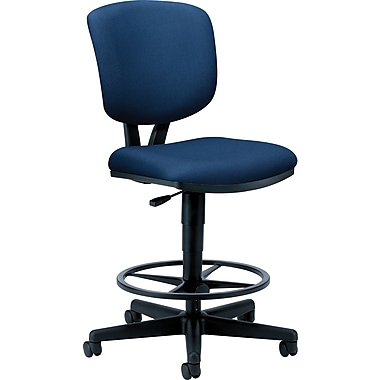 Hon® Volt® Armless Fabric Task Stool, Navy