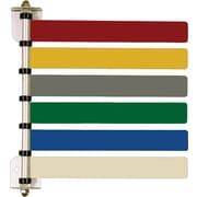 "Medline Room ID Flag System, 8"", 6 Flags"
