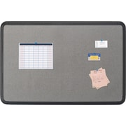 Fabric Board, Blow Mold Frame, 36 x 24 - Black