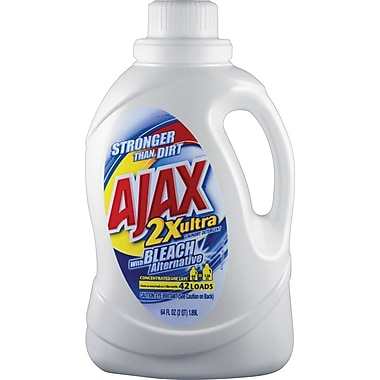 Ajax® 2x Ultra Liquid Laundry Detergent with Bleach Alternative, 50 oz.